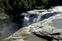Bordo della cascata Fotografie Stock