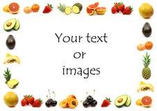 Bordo della frutta Fotografia Stock Libera da Diritti
