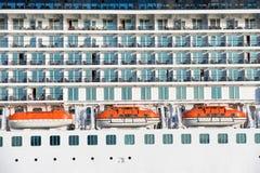 Bordo della nave da crociera di lusso Fotografia Stock
