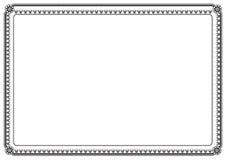 Bordo della pagina Fotografia Stock