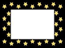 Bordo della stella dell'oro Immagine Stock
