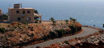 Bordo della strada del Crete Fotografia Stock Libera da Diritti
