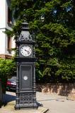Bordo della strada dell'orologio fotografia stock