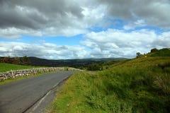 Bordo della strada scozzese Fotografia Stock