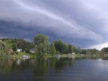 Bordo della tempesta Fotografia Stock
