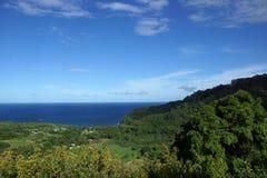 Bordo della valle di Wailua (nord-est) Fotografia Stock