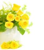 Bordo delle rose Immagini Stock