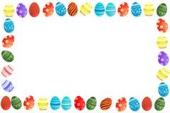 Bordo delle uova di Pasqua Immagine Stock