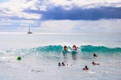 Bordo di boogie in Hawai Immagine Stock Libera da Diritti