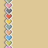 bordo di colore 3d nello stile arabo illustrazione vettoriale