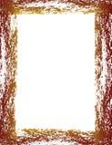 Bordo di colore rosso di Grunge illustrazione di stock