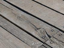 Bordo di legno del pavimento Immagine Stock