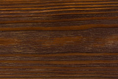 Bordo di legno di Brown laccato Fotografie Stock
