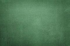 Bordo di legno verde con gesso bianco Fotografia Stock