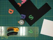 Bordo di progettazione Immagine Stock