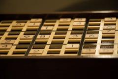 Bordo di Sudoku Fotografia Stock