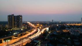 Bordo di town@Bangkok Fotografia Stock Libera da Diritti