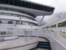 A bordo di una nave da crociera Fotografie Stock