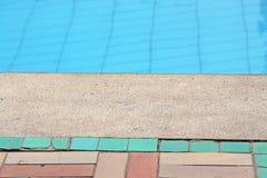 Bordo di una piscina Fotografia Stock