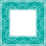 Bordo di verde blu illustrazione vettoriale