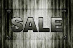 Bordo di vetro di vendita Immagine Stock