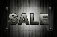 Bordo di vetro di vendita Fotografie Stock