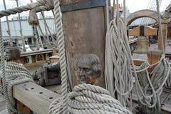A bordo do Netuno fotos de stock