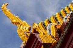 Bordo dorato del tetto Fotografia Stock Libera da Diritti