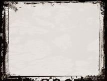 Bordo e priorità bassa di Grunge illustrazione vettoriale