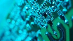 Bordo elettronico?del circuit? video d archivio