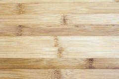 Bordo fatto di legno di bambù naturale Fondo i del modello di strutture fotografia stock