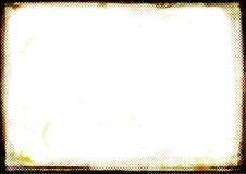 Bordo fotografico marrone bruciato Fotografie Stock Libere da Diritti