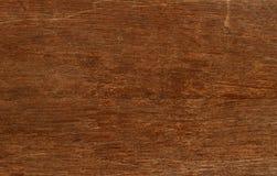 Bordo invecchiato sbiadito di legno d'annata con le crepe, i controlli ed i difetti Fotografia Stock