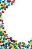 Bordo multicolore della capsula Fotografia Stock Libera da Diritti