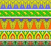 Bordo ornamentale di Buddhism royalty illustrazione gratis
