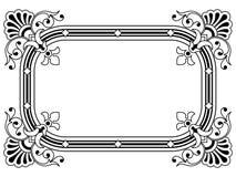 Bordo ornamentale, elemento di disegno royalty illustrazione gratis