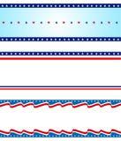 Bordo patriottico illustrazione di stock