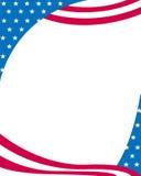 Bordo patriottico Immagini Stock Libere da Diritti