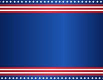 Bordo patriottico Immagini Stock