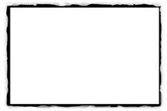 Bordo semplice del grunge Fotografia Stock