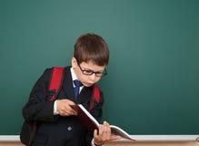 Bordo vicino del ritratto del ragazzo di scuola Immagini Stock Libere da Diritti