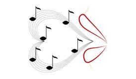 Bordos vermelhos do canto Foto de Stock Royalty Free