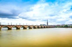 Bordowie, Francja Europa Obrazy Royalty Free