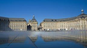 BORDOWIE FRANCJA, WRZESIEŃ, - 6, 2015: Palais De Los angeles Giełda w centrum bordowie, Aquitaine, Francja, Wrzesień 2015 Fotografia Royalty Free