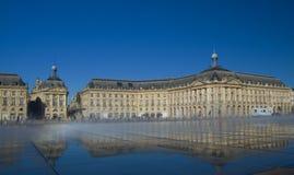 BORDOWIE FRANCJA, WRZESIEŃ, - 6, 2015: Palais De Los angeles Giełda w centrum bordowie, Aquitaine, Francja, Wrzesień 2015 Zdjęcie Royalty Free