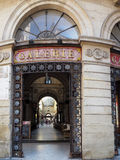 BORDOWIE, GIRONDE/FRANCE - WRZESIEŃ 21: Stary galeria budynek ja Obrazy Royalty Free