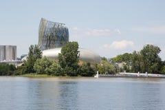 Bordowie, nowela Aquitaine, Francja/- 06 20 2018: Kulturalny centrum i Zdjęcia Royalty Free