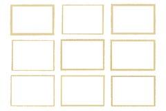 Bords déchiquetés de vieilles photos de sépia photos libres de droits
