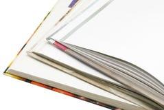 Bords des livres Images stock