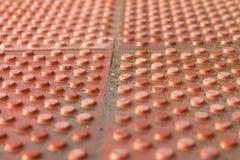 Bords ronds des briques Image libre de droits